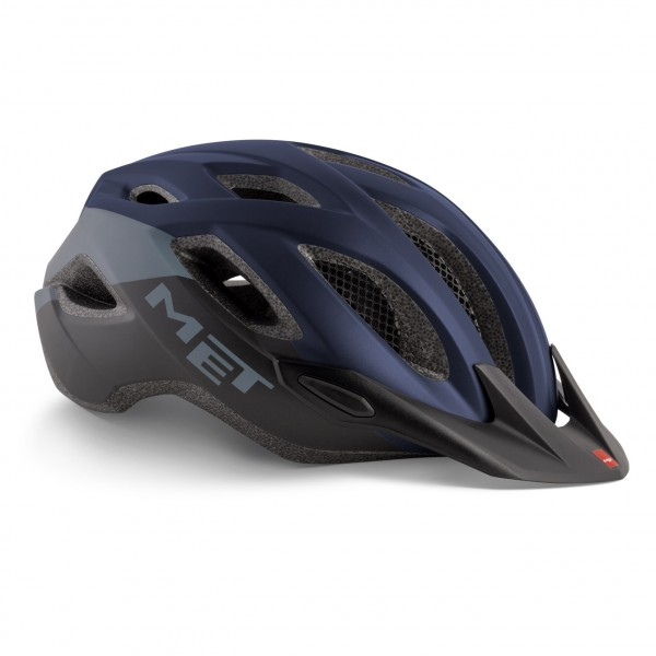MET Crossover MTB Helm Blue Black Matt Modell 2019