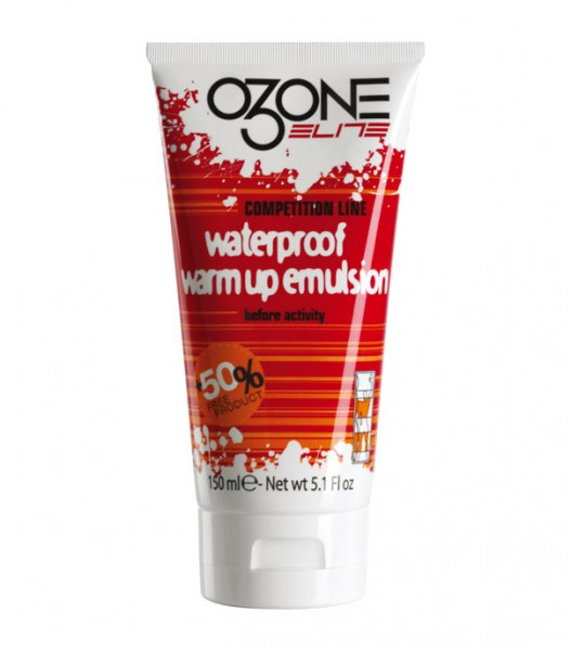 Elite Ozone Warm Up Emulsion - Wärmecreme Wasserfest - 150 ml